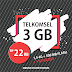 TSEL 3 GB 22rb