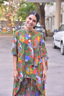 Samantha At Majili Movie Success Meet