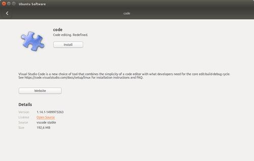 Install Package Deb Menggunakan Ubuntu Software Center