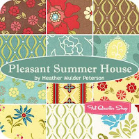 Pleasant Summer House by Heather Mulder Peterson at Fat Quarter Shop