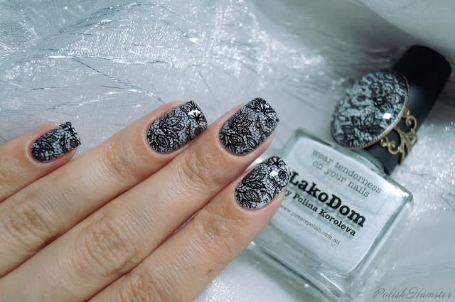 Picture Polish LakoDom и Dana 2 stamping plate.