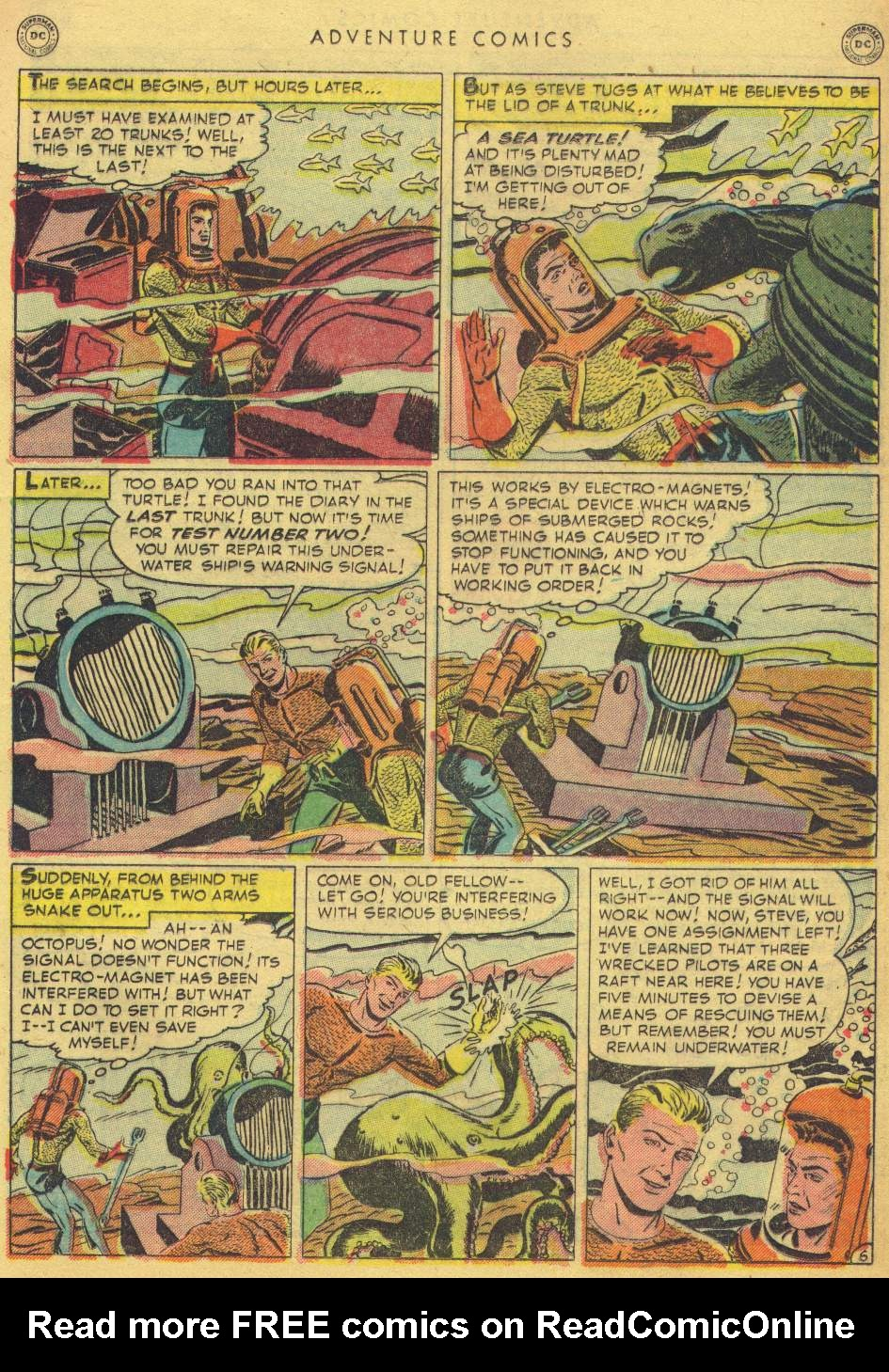 Read online Adventure Comics (1938) comic -  Issue #162 - 31