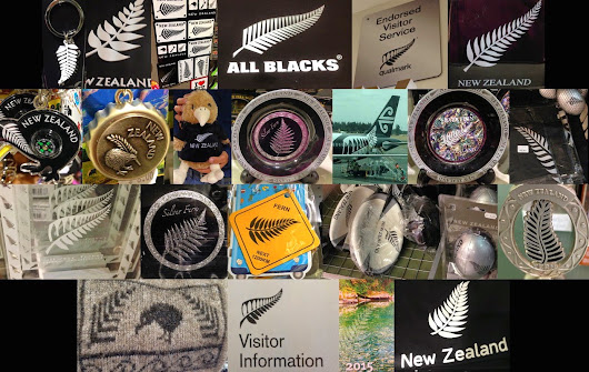 The Omnipresent (Yet Ellusive) Silver Fern of New Zealand