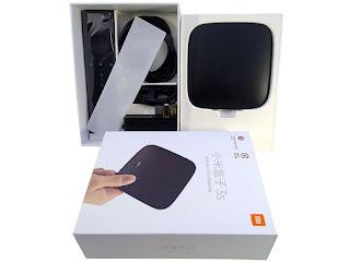 Xiaomi mi box 3s version internacional tv box android tv 6.0 4k 2gb ram 8gb rom quad core wifi dual band bluetooth 4.1
