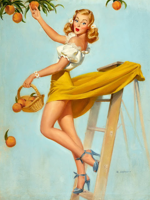 Clasic Pin Up Girls by Robert Oliver Skemp