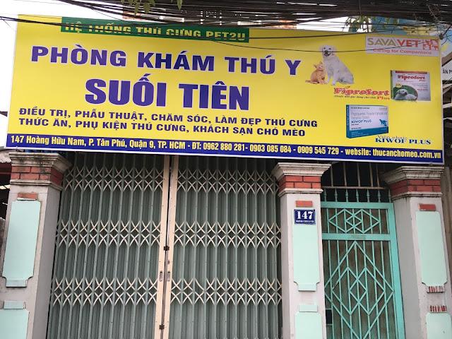 Phòng khám thú y Suối Tiên - Quận 9 (147 Hoàng Hữu Nam)