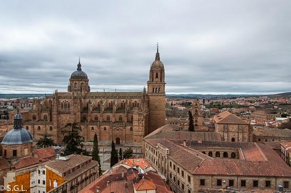 Salamanca desde la torre de la Clerecia