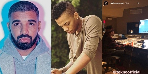 Did Drake sign Tekno to his record label?. (Watch video)