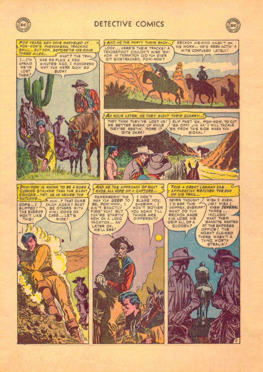Read online Detective Comics (1937) comic -  Issue #182 - 37