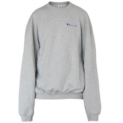 vetements men's oversized sweatshirt