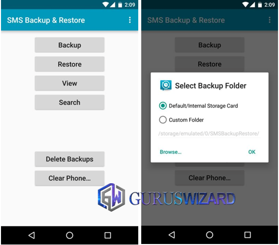 How to Backup SMS and Restore on Android [One-click Method] - The