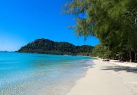 Beach at Sunshine Resort at Koh Kuud - Thailand