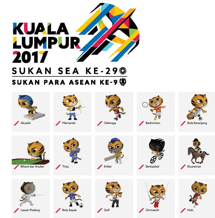 Jadual Sukan SEA Kuala Lumpur 2017