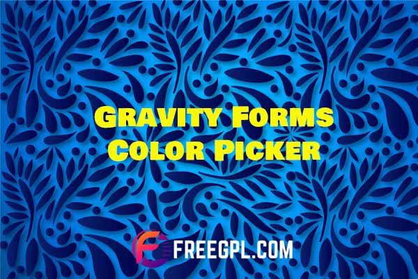Gravity Forms Color Picker Add-on Free Download