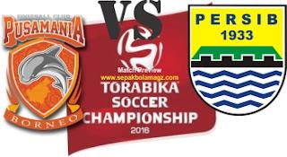 Preview Pusamania Borneo vs Persib Bandung