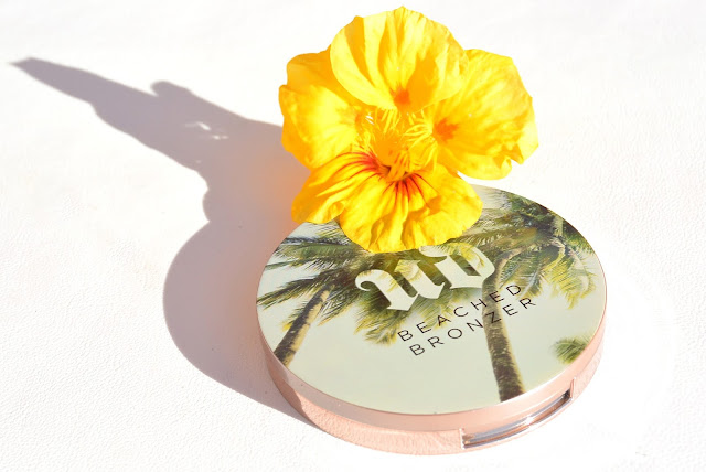 Urban Decay beached bronzer review