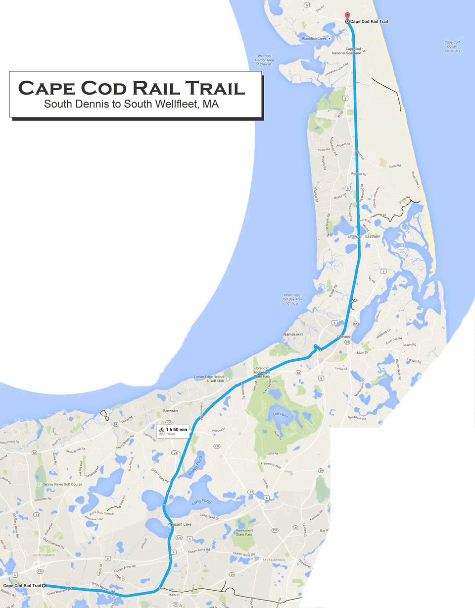 Rich's PedalPoint: Cape Cod Rail Trail on