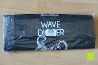 Verpackung: Dry Bag »Krake« Wasserdichte Trockentasche / Seesack / Survival Bag / Trockensack / Ideal für Kajak, Kanu, Segeln, Angeln, Schwimmen, Strand, Snowboarden, Skifahren, Bootfahren, Camping / Schützt Deine Wertsachen und Kleidung vor Staub, Nässe, Sand und Schmutz / 5L gelb