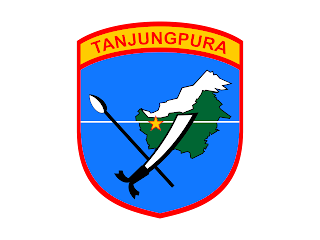 KODAM Tanjungpura Logo Vector CDR, Ai, EPS, PNG