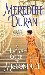 A Lady's Code of Misconduct, Meredith Duran, book, romance, historical romance, adult, politics, mystery, review