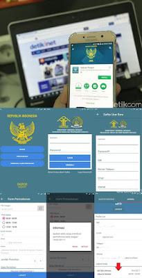 Aplikasi Baru Bebas Antre Paspor