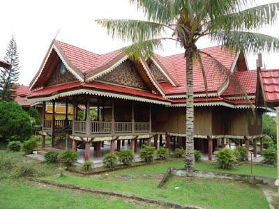 Rumah Adat Panggung Kajang Leko , Rumah Adat Jambi