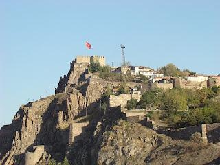Melihat Momen Indah Di Benteng Ulus Kalesi Ankara Turki