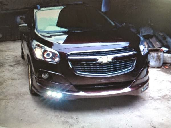 Aneka Modifikasi: Galeri Modifikasi Mobil Chevrolet Spin