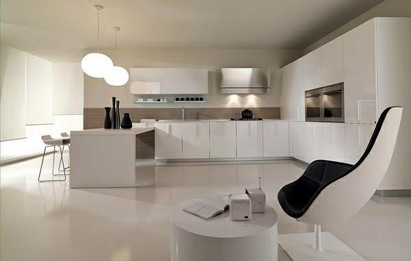cocina color blanco