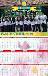 Download Kalender 2019 SD Gumulan