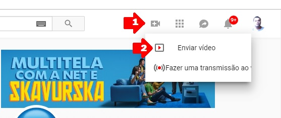 video colocar youtube
