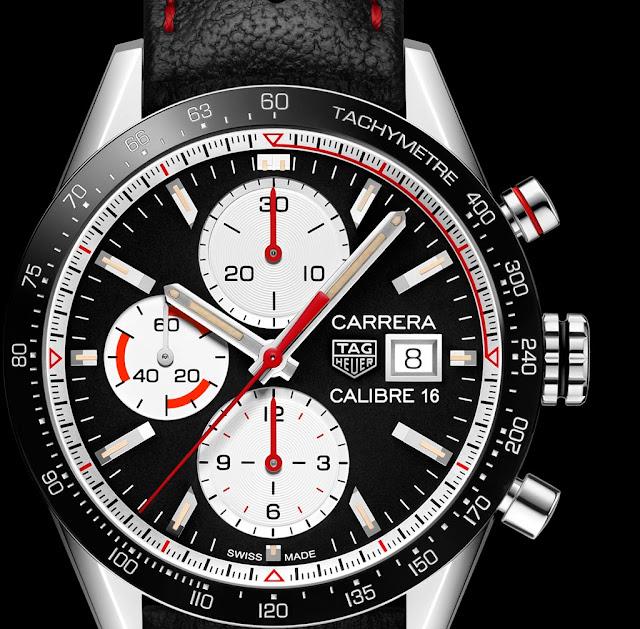 TAG Heuer Carrera Calibre 16 Chronograph Ref CV201AP.FC6429