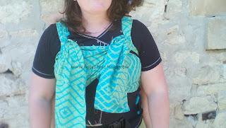 wrapidil buzzidil porte-bébé meï-taï bretelles déployables tissu écharpe portage  finition