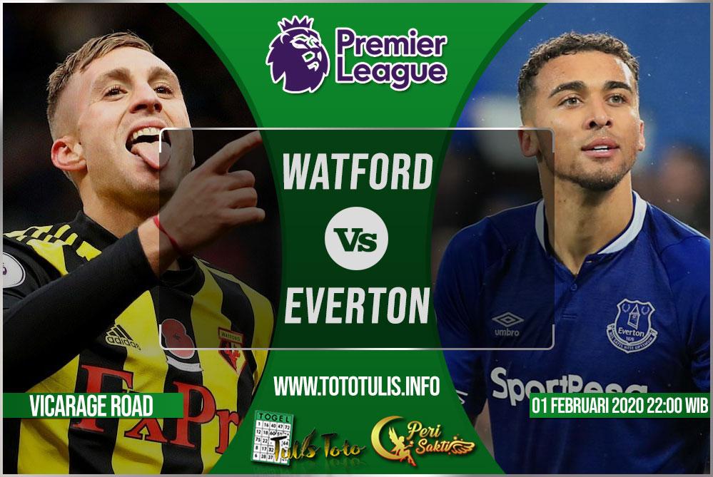 Prediksi Watford vs Everton 01 Februari 2020