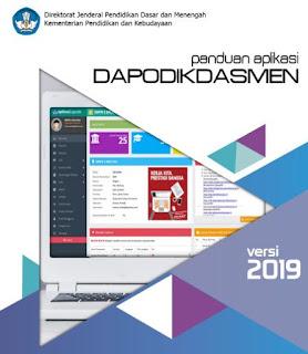 Buku Panduan Aplikasi Dapodikdasmen Versi 2019