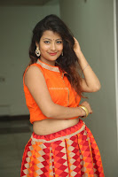 Shubhangi Bant in Orange Lehenga Choli Stunning Beauty ~  Exclusive Celebrities Galleries 048.JPG
