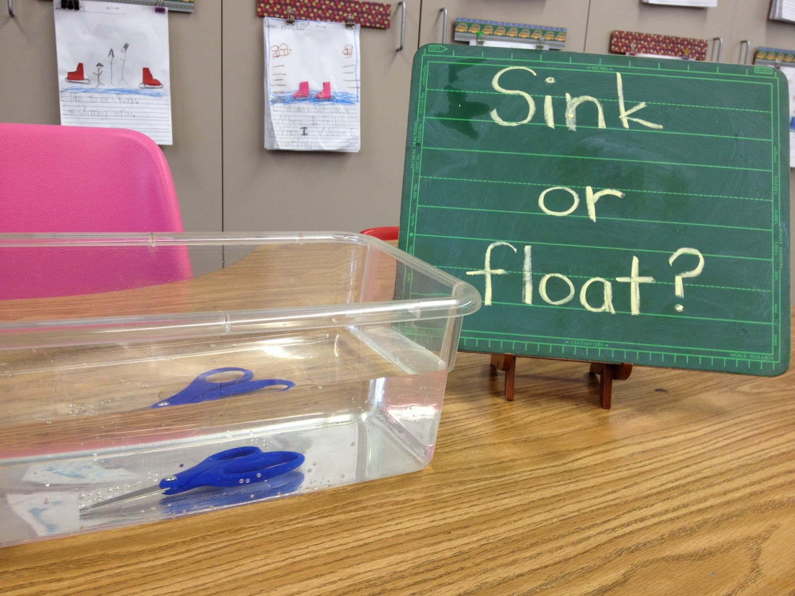Sink Or Float Apples And Abc 39 S
