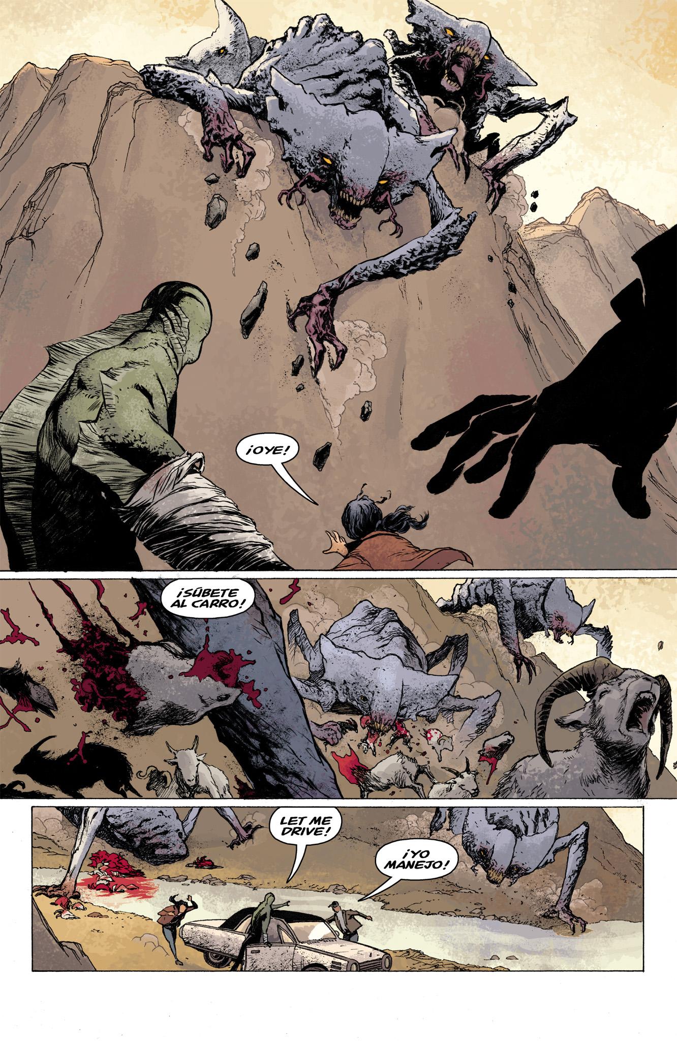 Read online Abe Sapien comic -  Issue #7 - 13