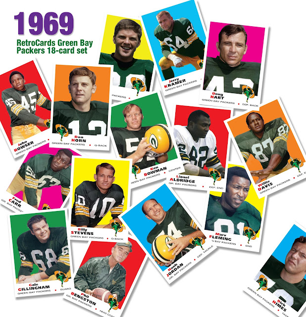 Topps football baseball cards, 1969, custom cards that never were
