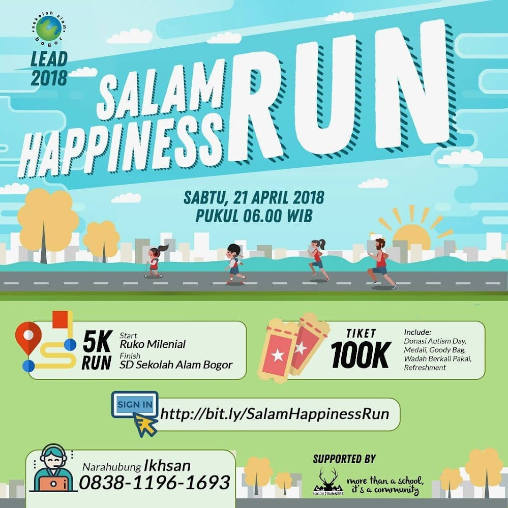 Salam Happiness Run • 2018