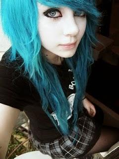 ย้อมผมสีฟ้า