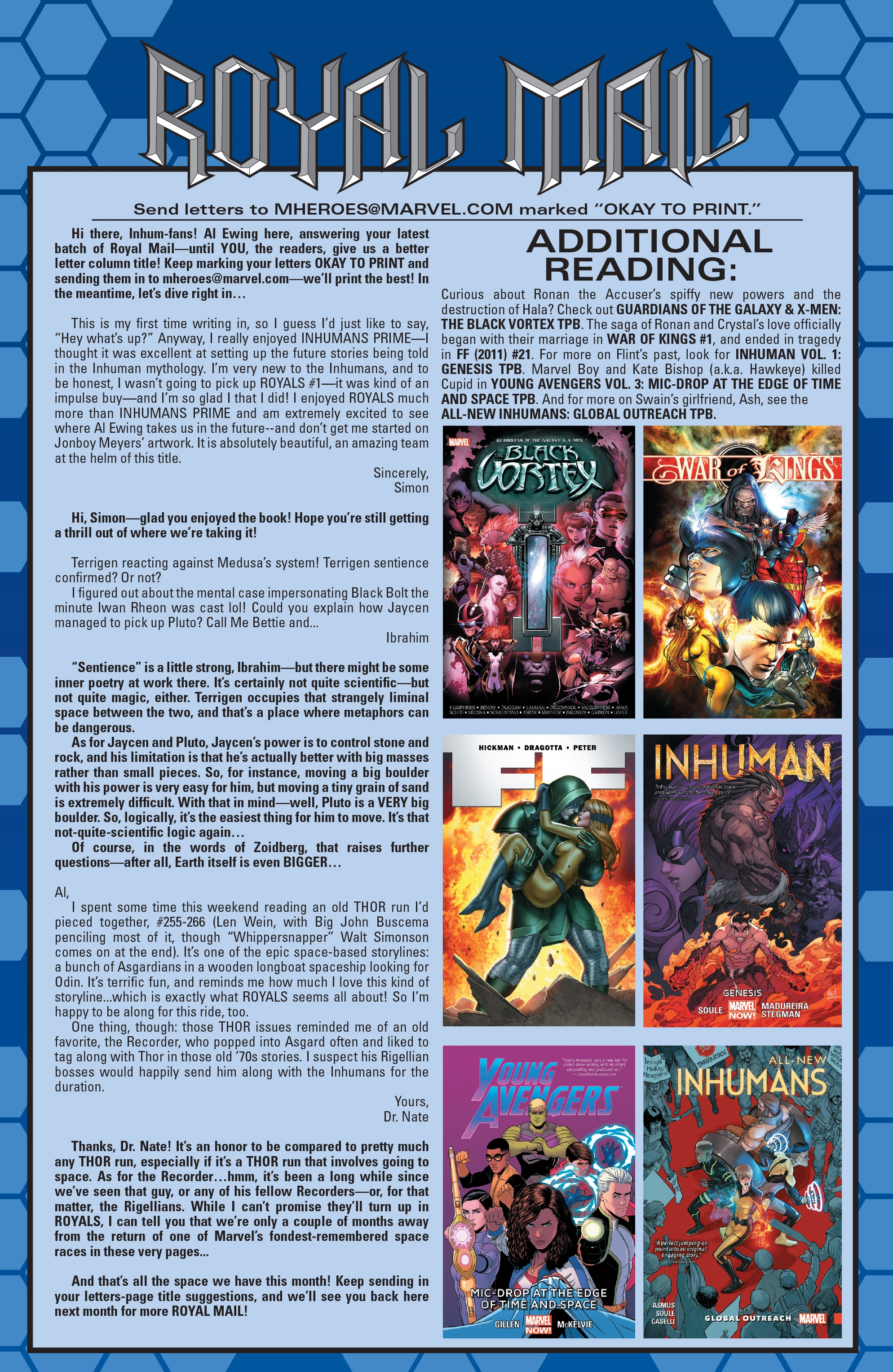 Read online Royals comic -  Issue #4 - 18
