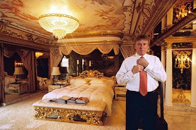 แบบห้องนอนสุดหรูของโดนัล ทรัมป์