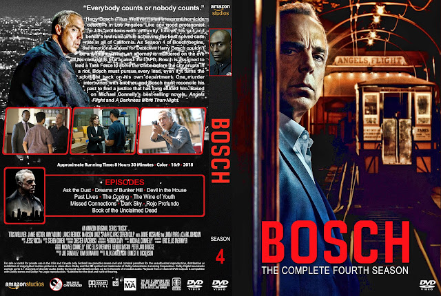 Bosch Season 4 DVD Cover