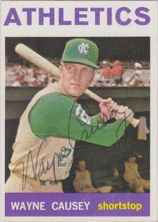 1964 Topps, Wayne Causey