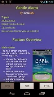 Gentle Alarm Android App APK