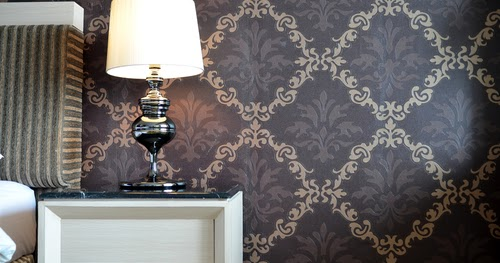 Wallpaper installation for your home for Www home design