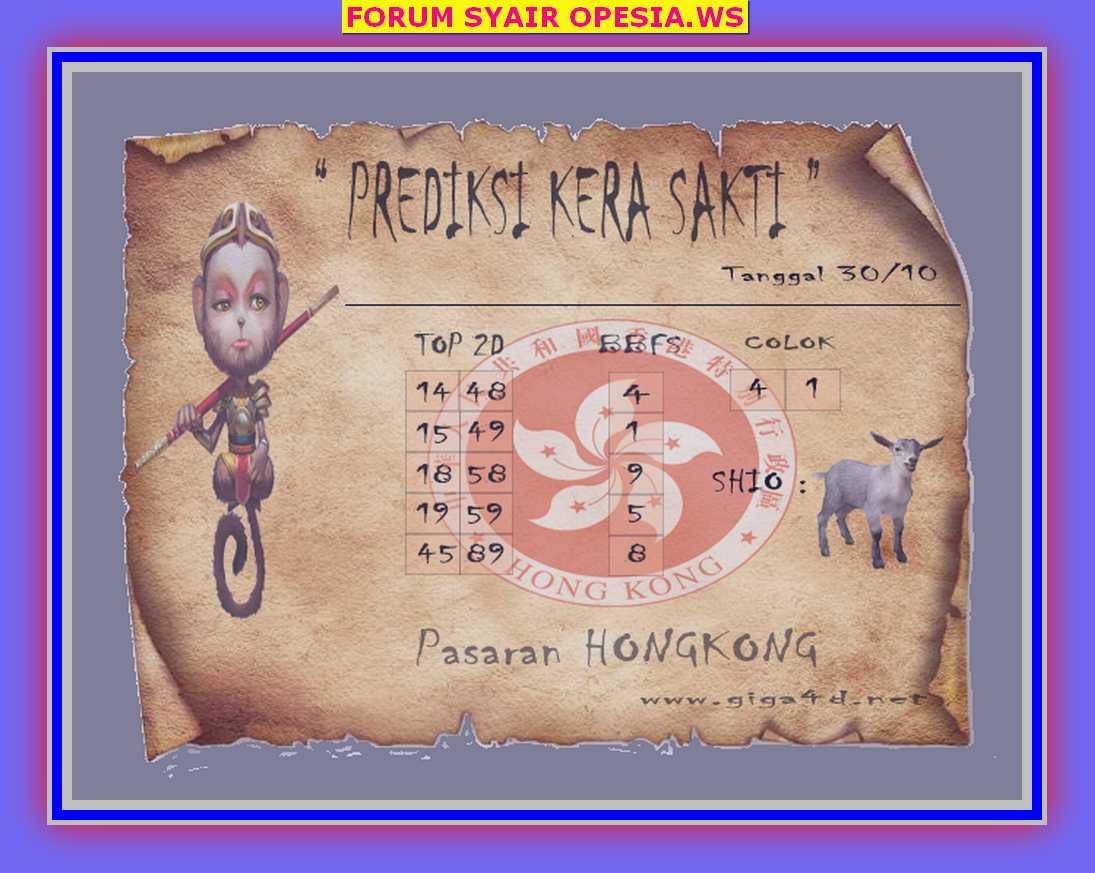 Kode syair Hongkong Rabu 30 Oktober 2019 55