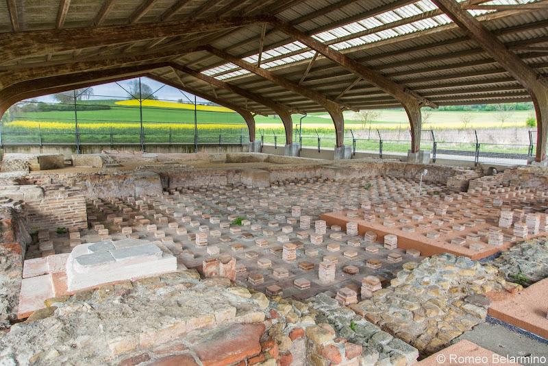 Roman Baths Ruins Avenches Switzerland