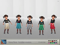 Dress Tina - Toddler version